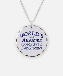 Dog Groomer Necklace