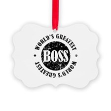 World's Greatest Boss Ornament