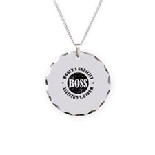 World's Greatest Boss Necklace