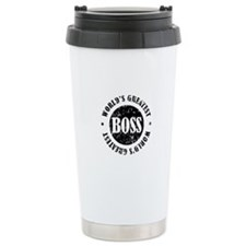 World's Greatest Boss Travel Mug