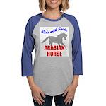 rwp-arabian-horse.tif Womens Baseball Tee