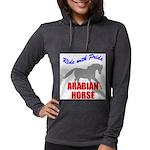 rwp-arabian-horse.tif Womens Hooded Shirt