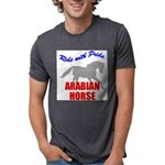 rwp-arabian-horse.tif Mens Tri-blend T-Shirt
