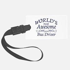 Bus Driver Luggage Tag