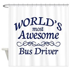 Bus Driver Shower Curtain