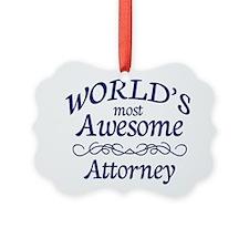 Attorney Ornament