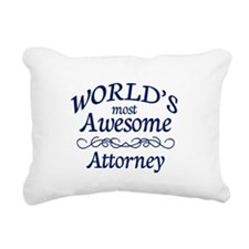 Attorney Rectangular Canvas Pillow