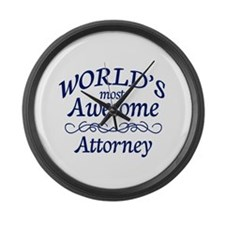 Attorney Large Wall Clock