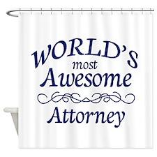 Attorney Shower Curtain