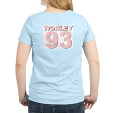 CLARENCE WORLEY Women's Pink T-Shirt