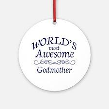 Godmother Ornament (Round)