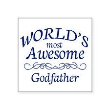 """Godfather Square Sticker 3"""" x 3"""""""