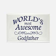 Godfather Rectangle Magnet