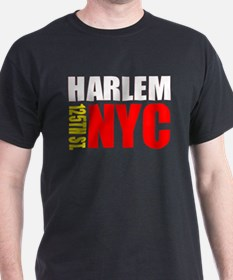East Harlem NYC Black T-Shirt