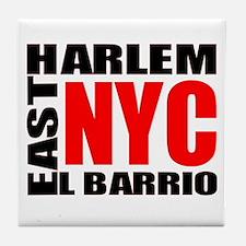 East Harlem NYC Tile Coaster
