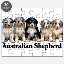 aussie pups with breed.png Puzzle
