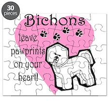 bichons pawprints.png Puzzle