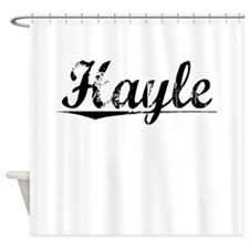 Hayle, Aged, Shower Curtain