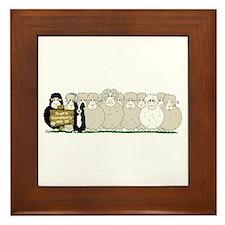 Les Moutons-Final-2.png Framed Tile