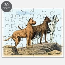 great dane oval breed name.png Puzzle