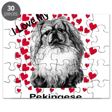 Peke I love my2.png Puzzle