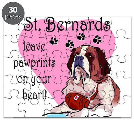 St. Bernards pawprints.png Puzzle