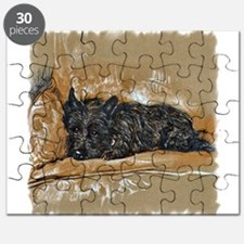 vintage scottie sleeping2.png Puzzle