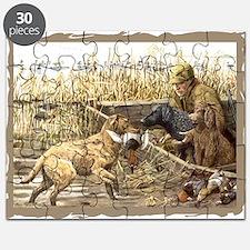 CHESSIE HUNTING SCENE.jpg Puzzle
