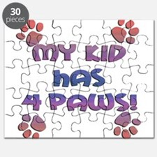 my kids have 4 paws sq sunset.png Puzzle