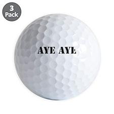 Aye aye Golf Ball