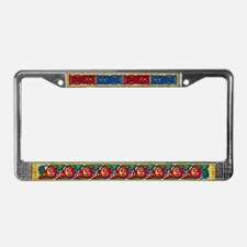 Celtic Knotwork/Spiral License Plate Frame