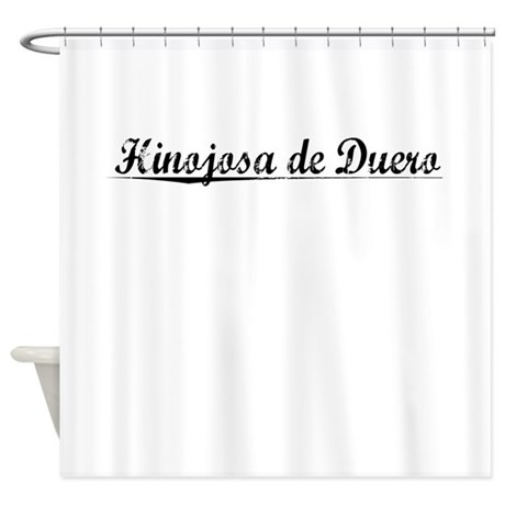 Hinojosa de Duero, Aged, Shower Curtain