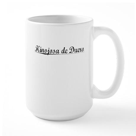 Hinojosa de Duero, Aged, Large Mug