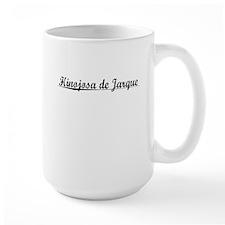Hinojosa de Jarque, Aged, Mug