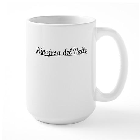 Hinojosa del Valle, Aged, Large Mug