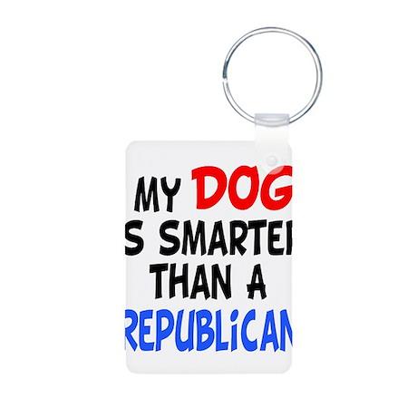dog smarter republican copy.png Aluminum Photo Key