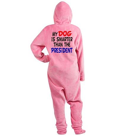 dog smarterz-1.png Footed Pajamas