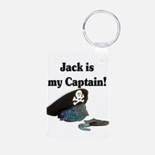 jack is my captain.png Keychains