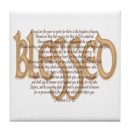Blessed Tile Coaster