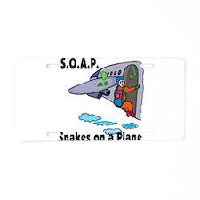 soap jump1.png Aluminum License Plate