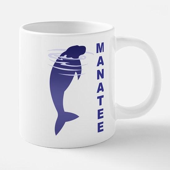 FIN-manatee.png 20 oz Ceramic Mega Mug