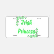 irish princess4.png Aluminum License Plate