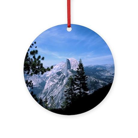 Half Dome Vista Ornament (Round)