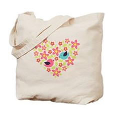 Spring Heart Tote Bag