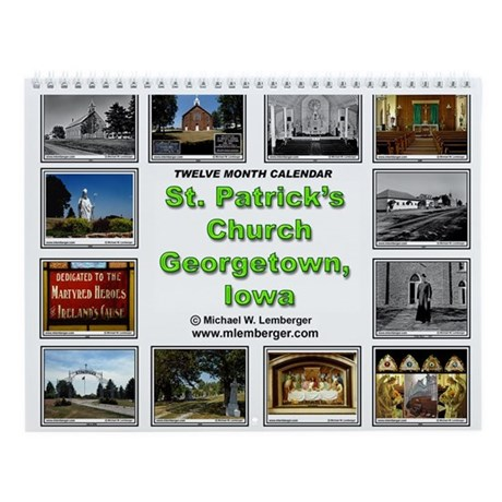 St Patrick's Georgetown Wall Calendar