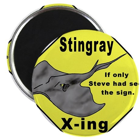 "Stingray X-ing 2.25"" Magnet (100 pack)"
