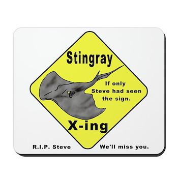 Stingray X-ing Mousepad