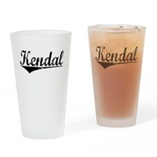 Kendal, Aged, Drinking Glass