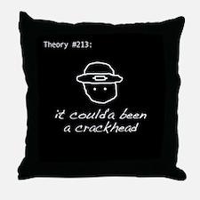 Theory #213 Throw Pillow