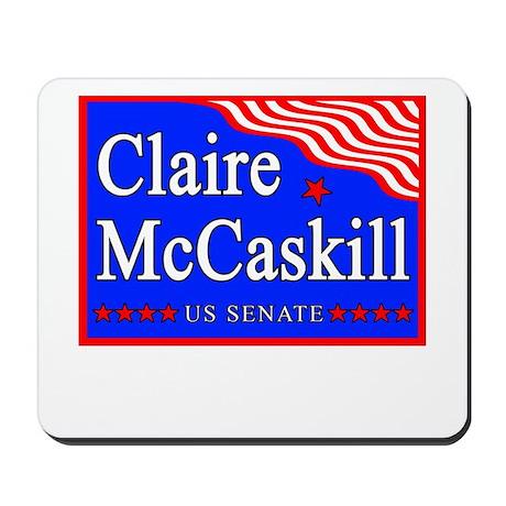 MO Claire McCaskill US Senate Mousepad